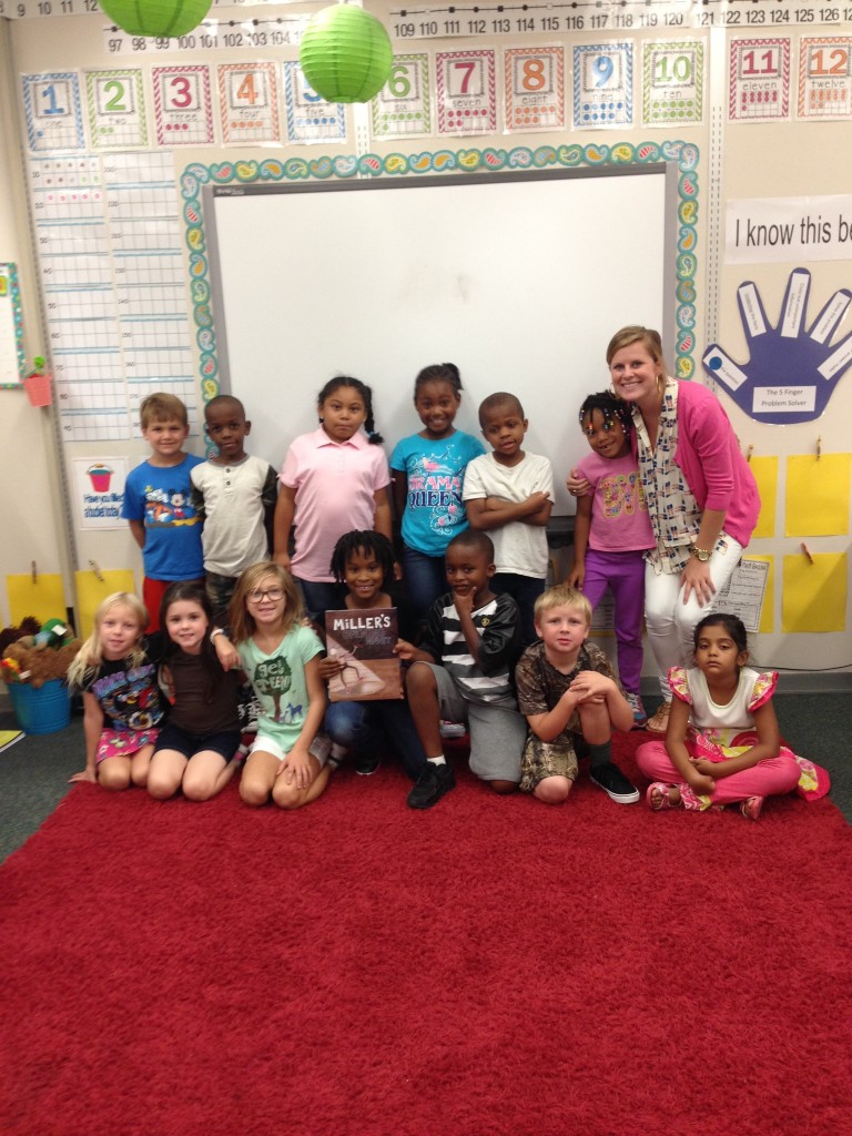 First Grade with Miss Reynolds